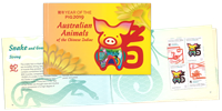 Christmas Islands - Year of the Pig - Mint booklet
