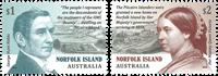 Îles Norfolk - Habitations sur les Îles Pitcairn - Série neuve 2v