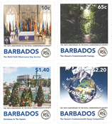 Barbados - Royal Commonwealth Society - Postfrisk sæt 4v