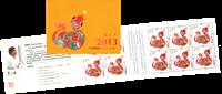 Chine - L'année du serpent - Carnet neuf