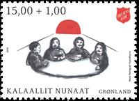 Grønland - Frelsens Hær - Postfrisk frimærke