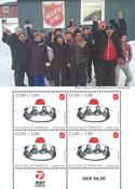 Grønland - Frelsens Hær - Postfrisk miniark