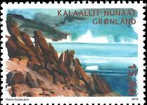 Groenland - Désert arctique Uummannaq - Timbre neuf