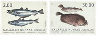 Groenland - Poissons - Série neuve 2v