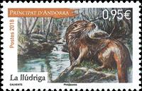 Andorre francais - Lludriga - Timbre neuf