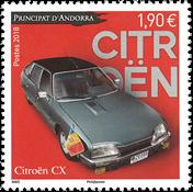 Andorre francais - Citroën - Timbre neuf
