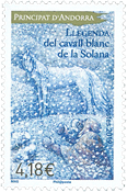 French Andorra - Llegenda Solana - Mint stamp
