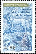 Andorre francais - Légende Solana - Timbre neuf