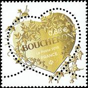 Frankrig - Modehuset Boucheron - Postfrisk frimærke