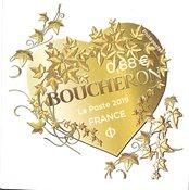 Frankrig - Modehuset Boucheron hjertemotiv - Postfrisk selvkl. frimærke