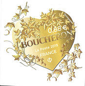 France - Fashion mark Boucheron heart - Mint stamp adh.