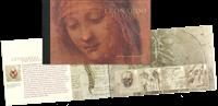 England - Leonardo da Vinci - Postfrisk prestigehæfte