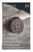 Autriche - L'Université d'Innsbruck - Timbre neuf