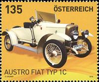 Østrig - Austro Fiat - Postfrisk frimærke