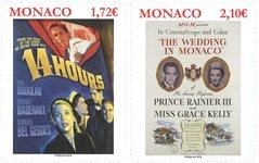 Monaco - Histoire du cinéma, Grace Kelly - Série neuve 2v