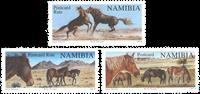 Namibia - Vildheste - Postfrisk genoptrykt sæt