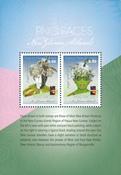 Papouasie Nlle Guinée - Visages 2018 - Bloc-feuillet neuf 2v