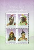 Papouasie Nlle Guinée - Visages 2018 - Bloc-feuillet neuf 4v
