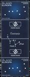 Åland - Constellation - Gutterpair neuf