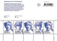 Pays-Bas - Rembrandt - Bloc-feuillet neuf