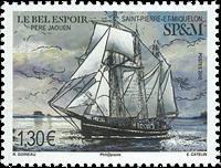 St Pierre & Miquelon - Le Bel Espoir - Timbre neuf