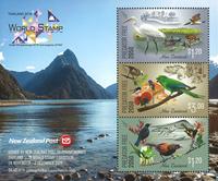 Nouvelle-Zélande - Exposition philatélique Bangkom  2018 - Bloc-feuillet neuf