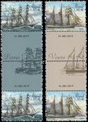 Åland - Sejlskibe 2019 - Postfrisk sæt gutterpair