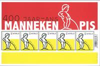 Belgien - Manneken Pis - Postfrisk miniark