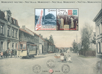 Belgien - Neutral Moresnet - Postfrisk miniark