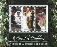 Barbados - Royal Wedding Prince Harry - Postfrisk miniark