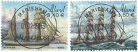 Åland - Sailing Ships Vineta and # - Timbre oblitéré