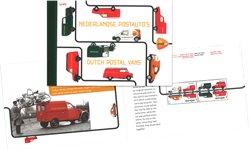 Netherlands - EUROPA 2013 postal cars - Mint prestige booklet