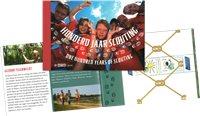 Holland - Europa 2007 Spejderbevægelsen - Postfrisk prestigehæfte