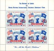 Liberia - Bloc-feuillet Unicef