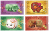 Hong Kong - Year of Pig - Mint set 4v