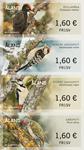 Åland - Spætter - Postfrisk sæt frankeringsmærker