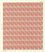 Danmark - AFA 337 postfrisk helark