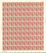 Danmark - AFA 337c postfrisk helark