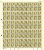 Danmark - AFA 342 postfrisk helark