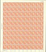 Danmark - AFA 343 postfrisk helark
