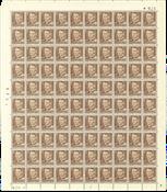 Danmark - AFA 308 postfrisk helark