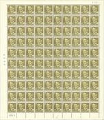 Danmark - AFA 311 postfrisk helark
