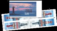 Åland - Fyrtårne - Postfrisk hæftesammentryk