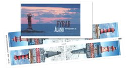 Åland - Phares 2008 - Bande de carnet neuf