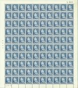 Danmark - Postfrisk helark AFA 398F