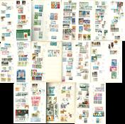 Thématiques - Grand classeur avec des timbres thématiques