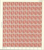 Danmark - AFA 307 postfrisk helark