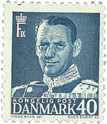 Danmark - AFA 310 postfrisk enkeltmærke