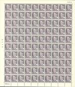 Danmark - AFA 319 postfrisk helark