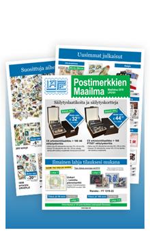 Postimerkkien Maailma - LPG191